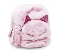 Рюкзак детский меховой  Cappuccino Toys CT7218.277 розовый