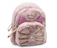 Рюкзак детский меховой  Cappuccino Toys CT7218.277DP розовый