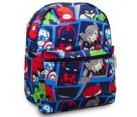 Детский дошкольный рюкзак Супергерои Марвел Cappuccino Toys CT7203.277 синий