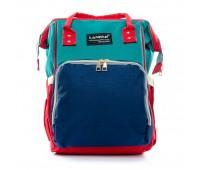 Рюкзак женский нейлон Lanpad D900-BGR многоцветный