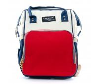 Рюкзак женский нейлон Lanpad D900-BWR многоцветный