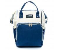Рюкзак женский нейлон Lanpad D900-WBlue многоцветный