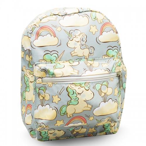 Детский дошкольный рюкзак Единорог Unicorn Cappuccino Toys CT7203.277-2 серый