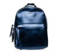 Рюкзак женский кожаный ALEX RAI 1-06 337 синий