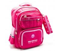 Рюкзак школьный для девочки Cappuccino Toys CT2177.277 розовый