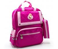 Рюкзак школьный для девочки Cappuccino Toys CT2114.277 розовый