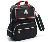 Рюкзак школьный для мальчика Cappuccino Toys CT2114.277 черный
