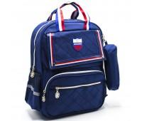 Рюкзак школьный для мальчика Cappuccino Toys CT2114.277 синий