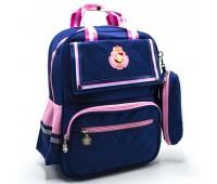 Рюкзак школьный для девочки Cappuccino Toys CT2114.277 синий