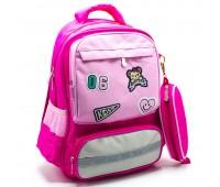 Рюкзак школьный ортопедический для девочки Cappuccino Toys CT2115.277 розовый