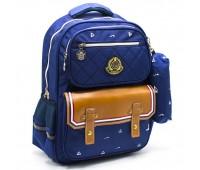 Рюкзак школьный для мальчика Cappuccino Toys CT2117.277 синий