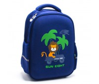 Рюкзак школьный для мальчика Cappuccino Toys CT2122.277-lion синий