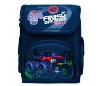Рюкзак школьный ортопедический для мальчика Monster Truck Cappuccino Toys CT4759.277 синий