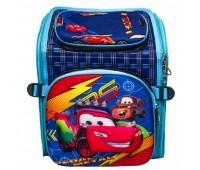 Рюкзак школьный ортопедический для мальчика Cappuccino Toys Тачки CT4764.277 синий