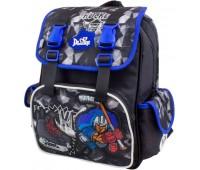 Рюкзак-ранец школьный ортопедический DeLune  для мальчиков 52-12 черный