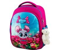 Рюкзак школьный Winner Stile 6010 для девочек розовый