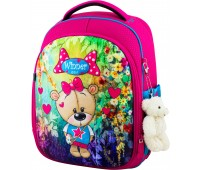 Рюкзак школьный Winner Stile 6011 для девочек розовый