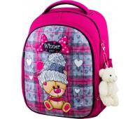 Рюкзак школьный Winner Stile 6013 для девочек розовый