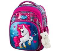 Рюкзак школьный Winner Stile 7005 для девочек розовый