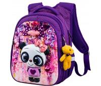 Рюкзак школьный Winner Stile R1-001 для девочек фиолетовый