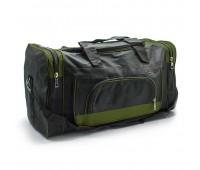 Дорожная сумка Gear Bag GB7044.277 черная с зеленым