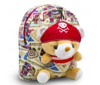 Детский дошкольный рюкзак  Cappuccino Toys CT2251.277 бежевый