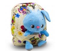 Детский дошкольный рюкзак  Cappuccino Toys CT2247.277-зайчик бежевый