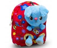 Детский дошкольный рюкзак  Cappuccino Toys CT2247.277-зайчик красный