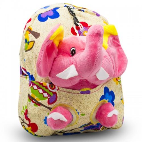 Детский дошкольный рюкзак  Cappuccino Toys CT2247.277-слоник бежевый