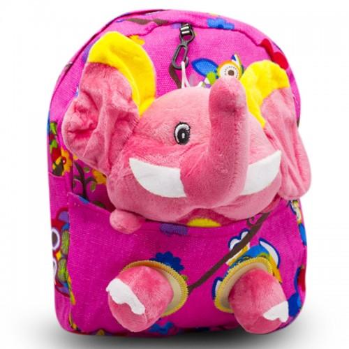Детский дошкольный рюкзак  Cappuccino Toys CT2247.277-слоник розовый