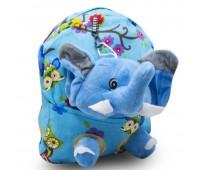 Детский дошкольный рюкзак  Cappuccino Toys CT2248.277-слоник голубой