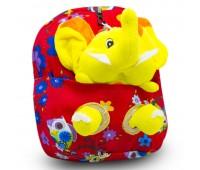 Детский дошкольный рюкзак  Cappuccino Toys CT2248.277-слоник красный