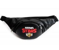 Сумка Бананка на пояс Cappuccino Toys Brawl Stars Бравл Старс 1533-13 черный