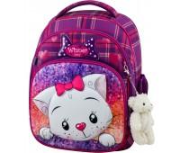 Рюкзак школьный Winner Stile 7001 для девочек фиолетовый
