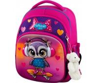 Рюкзак школьный Winner Stile 7002 для девочек розовый