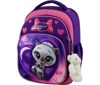 Рюкзак школьный Winner Stile 7003 для девочек фиолетовый