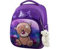 Рюкзак школьный Winner Stile 7006 для девочек фиолетовый