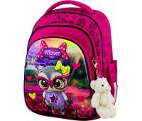 Рюкзак школьный Winner Stile 5001 для девочек розовый
