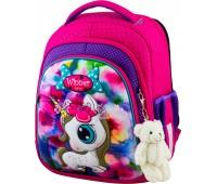 Рюкзак школьный Winner Stile 5002 для девочек розовый