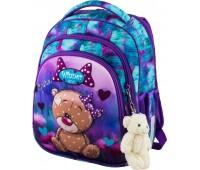Рюкзак школьный Winner Stile 5005 для девочек фиолетовый