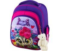 Рюкзак школьный Winner Stile 5006 для девочек фиолетовый