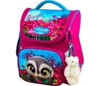 Рюкзак-ранец Winner ONE 2043 для девочки школьный ортопедический розовый