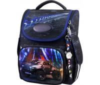 Рюкзак-ранец для мальчика Winner ONE 2049 школьный ортопедический черный