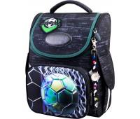 Рюкзак-ранец для мальчика Winner ONE 2050 школьный ортопедический черный