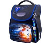 Рюкзак-ранец для мальчика Winner ONE 2052 школьный ортопедический черный