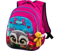 Рюкзак школьный Winner ONE R2-161 для девочек розовый