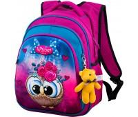 Рюкзак школьный Winner ONE R2-162 для девочек розовый
