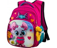 Рюкзак школьный Winner ONE R3-221 для девочек розовый