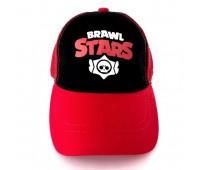 Кепка Бравл Старс Brawl Stars детская Gear Bag  красная