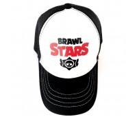 Кепка Бравл Старс Brawl Stars детская Gear Bag  белая